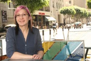 Jennifer Klausner, ordförande för organisationen Los Angeles County Bicycle Coalition (LACBC).
