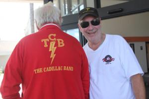 """""""TCB"""" står för """"The Cadillac Band"""", men också förstås för """"Taking Care of Business"""", mottot som är så starkt förknippat med Elvis Presley och namnet på hans band under senare år."""